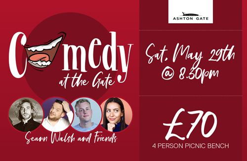 Comedy at the Gate is back