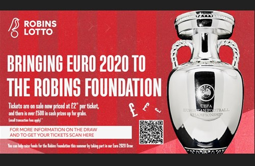 Win with the Robins Lotto Euro 2020 Draw!