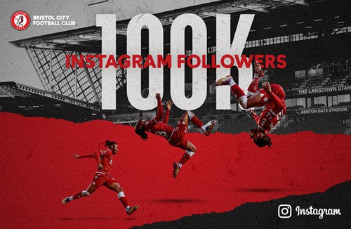 Giveaway for 100k followers on Instagram
