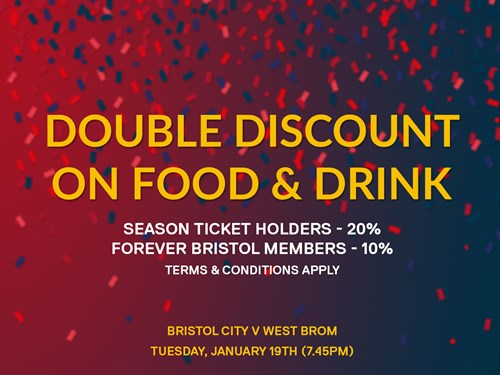 Food & Drink Double Discount For FA Cup Tie