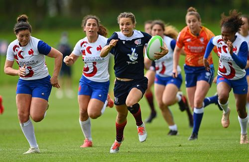 Joyce features for GB Sevens in Ireland