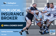 Win a signed shirt in celebration of Tackling Tomorrow. Together