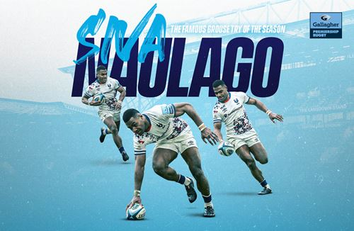 Siva Naulago wins The Famous Grouse Try of the Season