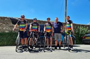 Duo Complete Mammoth Ride for Break the Cycle 2021