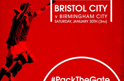 Limited Tickets Available For Bristol City v Birmingham