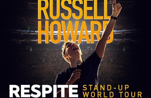 Russell Howard – Start time change for Wednesday's show
