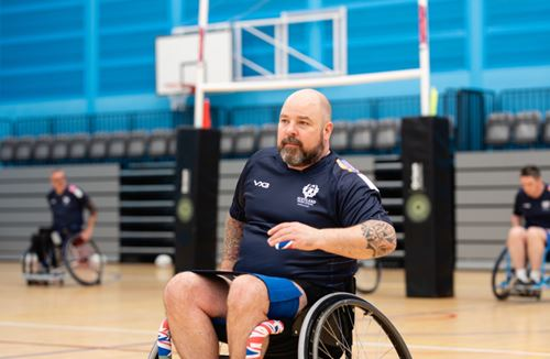 Bears Wheelchair Rugby star gains International recognition