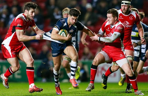 VIDEO: Bristol Rugby vs Ulster 'A'