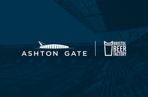 Ashton Gate announces new partnership with Bristol Beer Factory