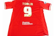 Welcome Lee Tomlin To Bristol And Win A Signed Shirt