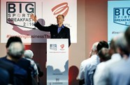 Sir Ranulph Fiennes Inspires At Big Sports Breakfast