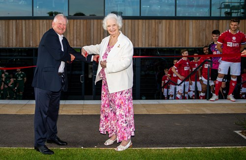 Official opening ceremony of the Robins High Performance Centre