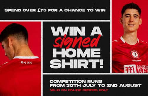 How to win a signed home shirt