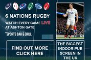 Watch The 6 Nations On The Big Screen