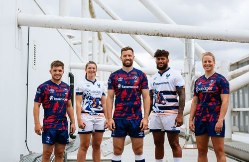 Gallery: Bears launch 2021/22 home and away kits