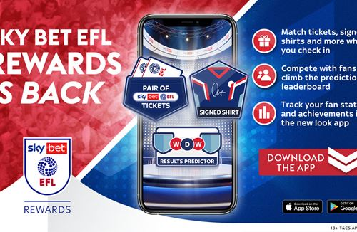 Don't forget to Check In on Sky Bet EFL Rewards this weekend!