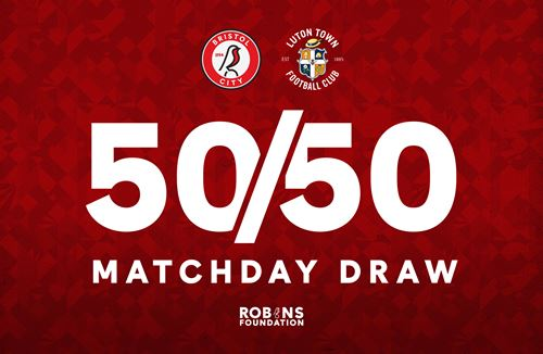 Pick up your 50/50 Matchday Draw tickets
