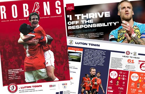 📕 Read the online Matchday Programme: City v Luton Town