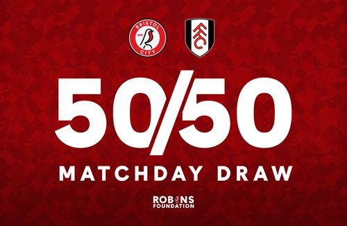 Win big at half time with the 50/50 Matchday Draw!