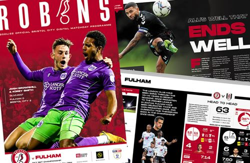 📕 Read the online Matchday Programme: City v Fulham