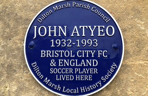 Atyeo honoured with blue plaque