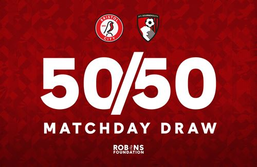 Purchase your 50/50 Matchday Draw tickets now!