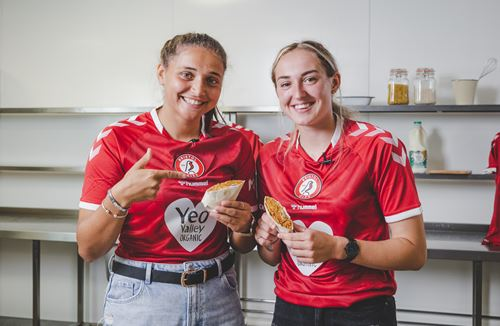 City Women team-up with Yeo Valley to deliver Full Time Meals recipes