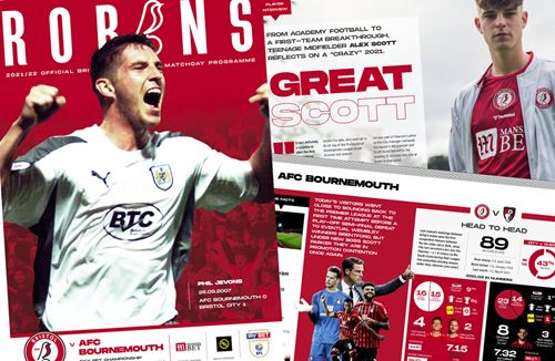 📕 Read the online Matchday Programme: City v AFC Bournemouth