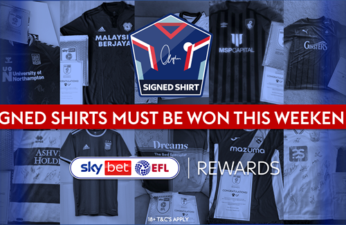 A signed City shirt has to be won this matchday!