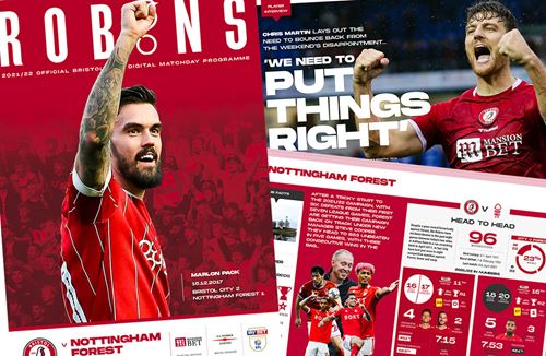 📕 Read the online Matchday Programme: City v Nottingham Forest