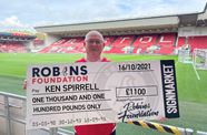 Jackpot for new Robins Lotto member