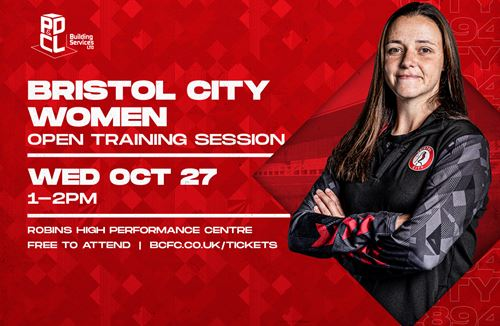 City Women to host open training session