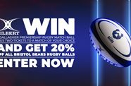 Win a Gallagher Premiership Rugby match ball plus two tickets to a match of your choice