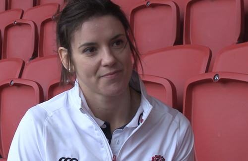 Video: Sarah Hunter on England Women's 6 Nations Campaign