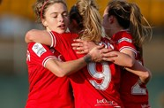 Bristol City Women Celebrate International Women's Day