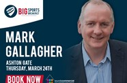 F1's Mark Gallagher To Headline Next Big Sports Breakfast