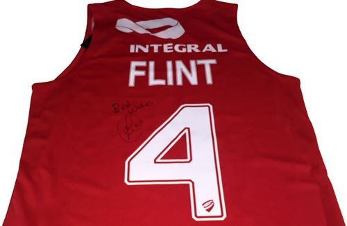 Competition: Win Aden Flint's Signed Bristol Flyers Jersey