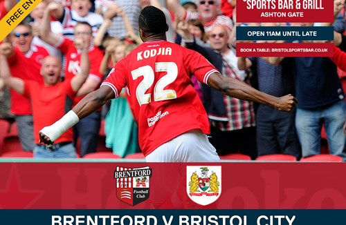 Brentford v Bristol City - Beamback At Bristol Sports Bar & Grill