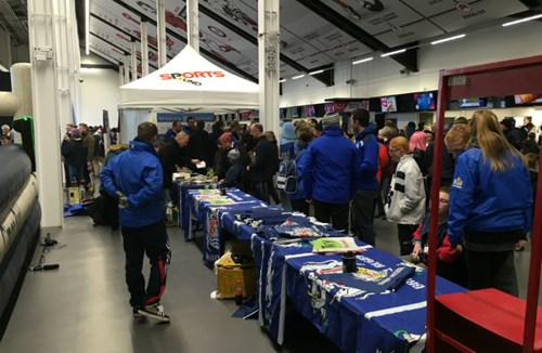 Matchday Fanzone In The South Stand