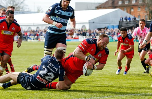 REPORT: Bedford Blues 16-45 Bristol Rugby