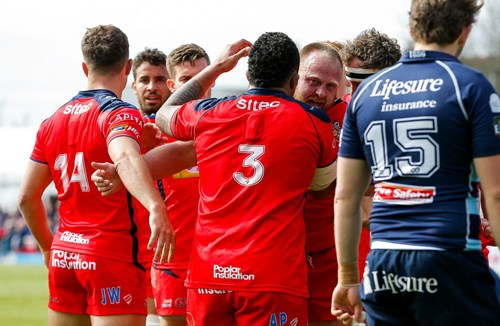 GALLERY: Bedford Blues vs Bristol Rugby