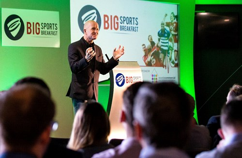 Video: Eddie 'The Eagle' Edwards Inspires At Big Sports Breakfast