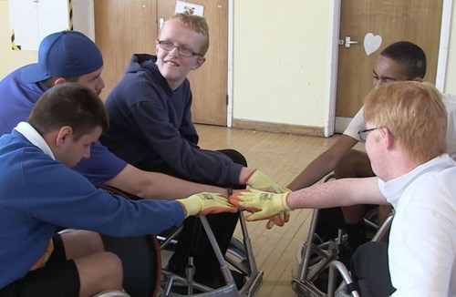Video: Bristol Rugby's First Wheelchair Team In Training