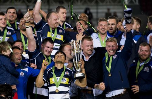 GALLERY: Trophy And Full Time Celebrations