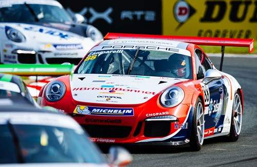 Zamparelli Clinches Podium Position After Tough Start