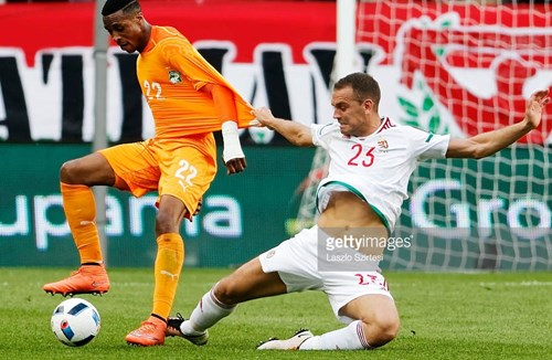 Kodjia Nets First International Goal