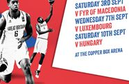 Tickets For GB Basketball's 2017 Eurobasket Qualifiers Now On Sale