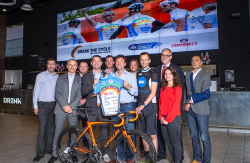 Olympic Cyclist Oli Beckingsale Launches 2016 Break The Cycle Kit