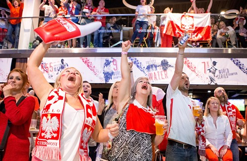 Gallery: Poland Fans At Ashton Gate