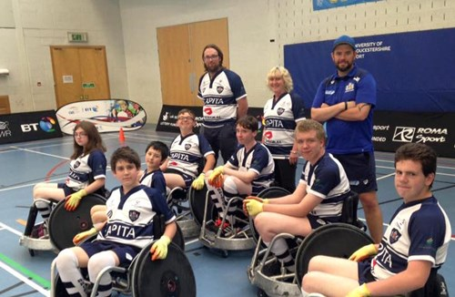 Bristol Wheelchair Rugby Team Launch Taster Sessions